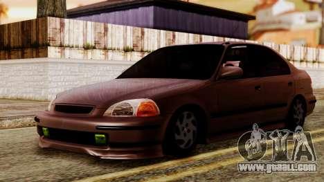 Honda Civic 1.6 for GTA San Andreas
