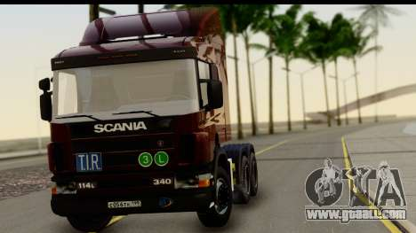 Scania P340 for GTA San Andreas back left view