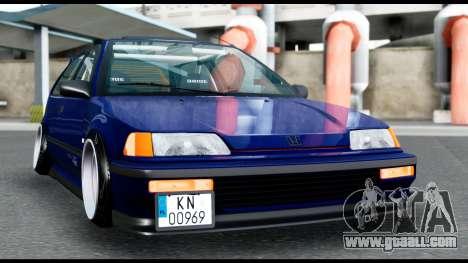 Honda Civic 4gen JDM for GTA San Andreas right view