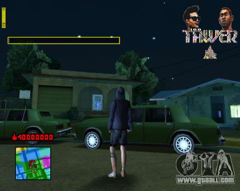 C-HUD Tawer By Flocky for GTA San Andreas second screenshot