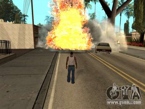 New Realistic Effects 3.0 for GTA San Andreas third screenshot