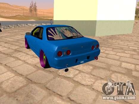 Nissan Skyline R32 for GTA San Andreas left view