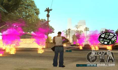 New Pink Effects for GTA San Andreas fifth screenshot
