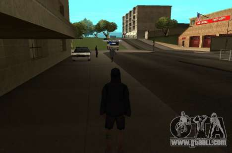 New HP color of the players for GTA San Andreas second screenshot