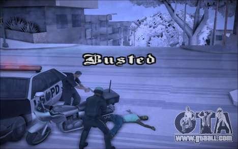ENBSeries Wade Coronos for GTA San Andreas third screenshot