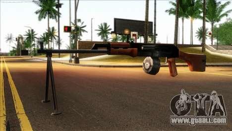 MG from GTA 5 for GTA San Andreas