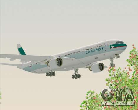 Airbus A330-300 Cathay Pacific for GTA San Andreas inner view