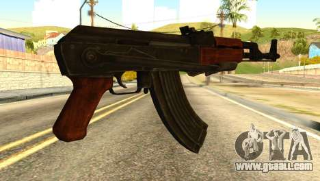 AK47 from Global Ops: Commando Libya for GTA San Andreas second screenshot