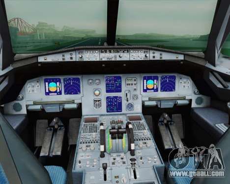 Airbus A321-200 French Government for GTA San Andreas inner view
