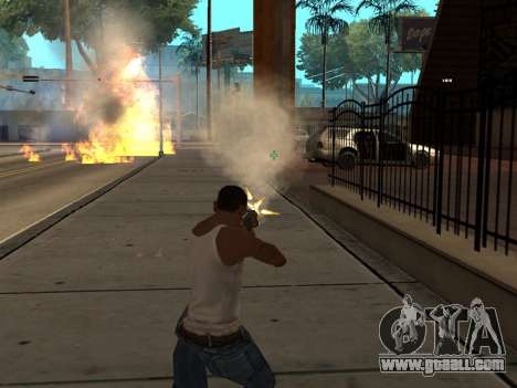 New Realistic Effects 3.0 for GTA San Andreas forth screenshot