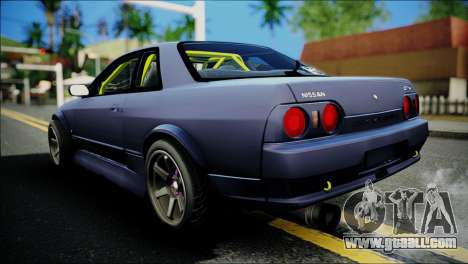Nissan Skyline GT-S R32 for GTA San Andreas left view
