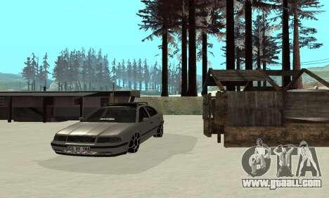 Skoda Octavia Winter Mode for GTA San Andreas upper view