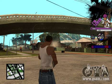 C-HUD TAWER for GTA San Andreas