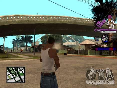 C-HUD TAWER for GTA San Andreas second screenshot