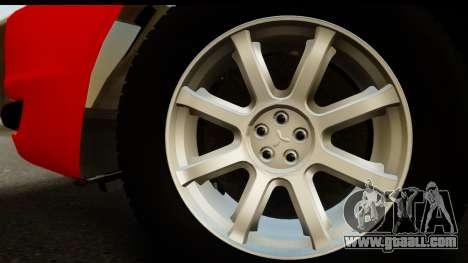 Mitsubishi Lancer X Stock for GTA San Andreas