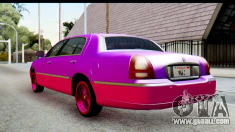 Lincoln Town Car 2010 for GTA San Andreas left view