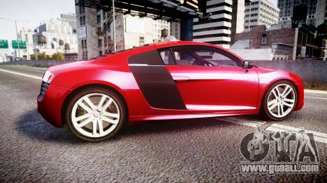 Audi R8 E-Tron 2014 for GTA 4 left view