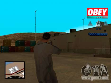C-HUD Obey for GTA San Andreas