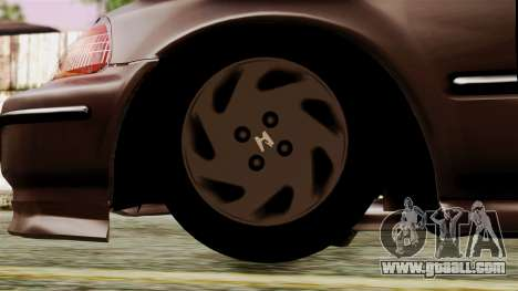 Honda Civic 1.6 for GTA San Andreas back left view