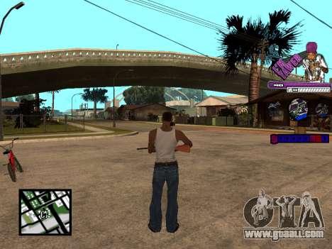 C-HUD TAWER for GTA San Andreas third screenshot