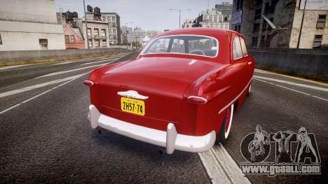 Ford Custom Tudor 1949 for GTA 4