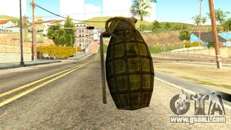Grenade from Global Ops: Commando Libya for GTA San Andreas