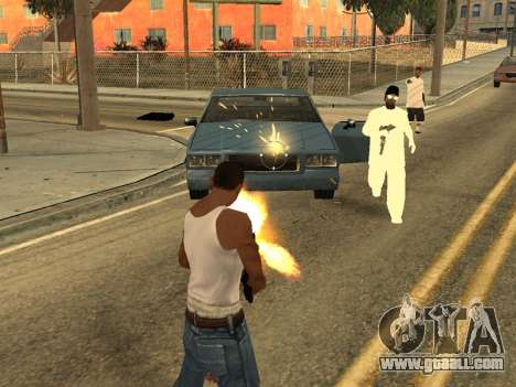 Realistic Effects v3.4 by Eazy for GTA San Andreas second screenshot