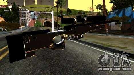 New Sniper Rifle for GTA San Andreas second screenshot