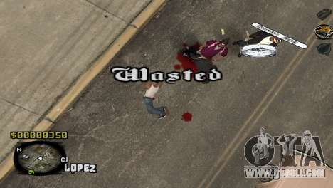 C-HUD Sigara for GTA San Andreas third screenshot