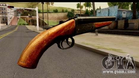 Sawnoff Shotgun HD for GTA San Andreas second screenshot