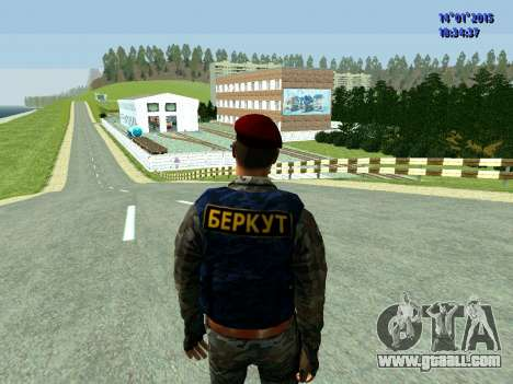 The Foreman Of The Eagle for GTA San Andreas third screenshot