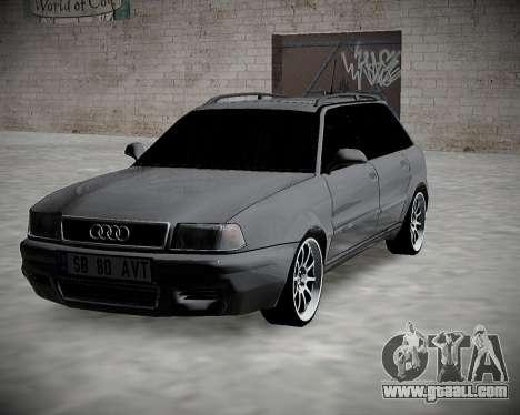 Audi 80 B4 Avant BAN.RF for GTA San Andreas back view