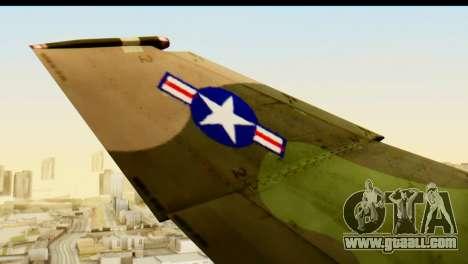F-4 Vietnam War Camo for GTA San Andreas back view