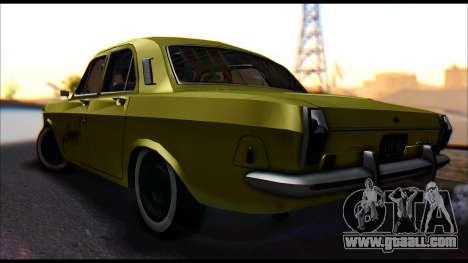 GAZ 24 Volga for GTA San Andreas left view