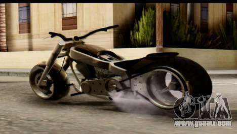 Innovation GTA 5 for GTA San Andreas left view