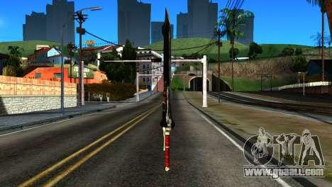 New Katana for GTA San Andreas second screenshot
