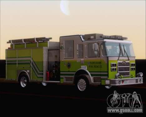 Pierce Arrow XT Miami Dade FD Engine 45 for GTA San Andreas left view