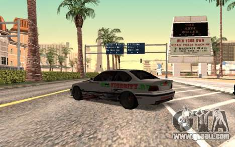 BMW M3 E36 VCDT for GTA San Andreas left view