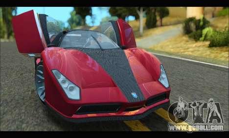 Grotti Cheetah v3 (GTA V) (SA Mobile) for GTA San Andreas left view