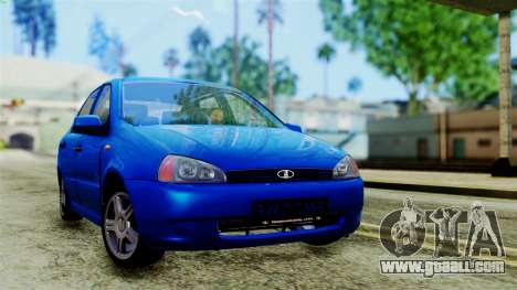 VAZ 1118 for GTA San Andreas
