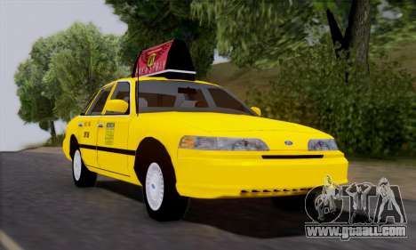 Ford Crown Victoria NY Taxi for GTA San Andreas