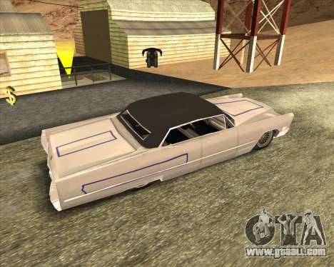 Cadillac DeVille Lowrider 1967 for GTA San Andreas