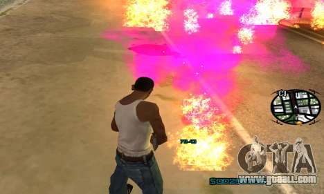 New Pink Effects for GTA San Andreas sixth screenshot