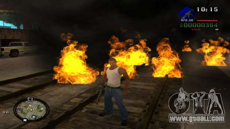 C-HUD by Kidd for GTA San Andreas seventh screenshot