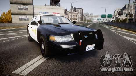 Ford Crown Victoria 2011 LASD [ELS] for GTA 4