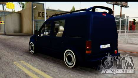Ford Transit Tourneo Connect Camli Van for GTA San Andreas left view