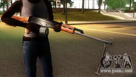MG from GTA 5 for GTA San Andreas third screenshot