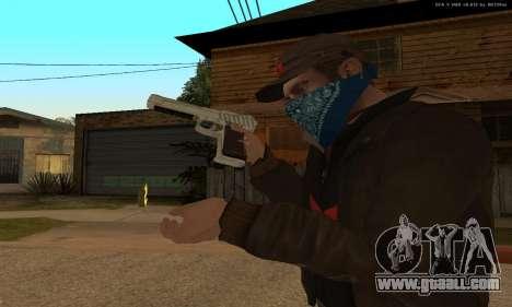 GTA 5 Desert Eagle for GTA San Andreas