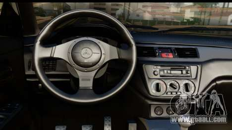 Mitsubishi Outlander for GTA San Andreas back left view