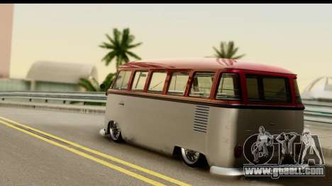 Volkswagen Transporter T1 Stance for GTA San Andreas left view